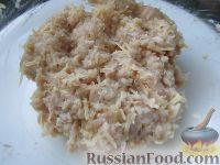 Фото приготовления рецепта: Равиоли с мясом и сыром - шаг №3