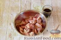 Фото приготовления рецепта: Свинина в кисло-сладком соусе - шаг №3