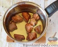 Фото приготовления рецепта: Свинина в кисло-сладком соусе - шаг №10
