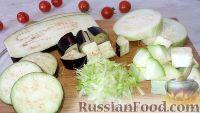 Фото приготовления рецепта: Заморозка кабачков и баклажанов (на зиму) - шаг №6