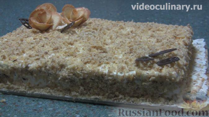 Торт медово ореховый рецепт пошагово в