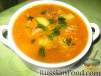 Фото к рецепту: Суп с сардиной