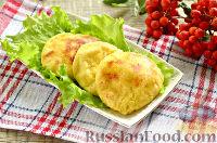 Фото к рецепту: Картофельные сырники