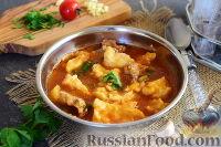 Фото к рецепту: Прикумские рванцы (суп с клецками)
