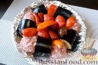 Фото приготовления рецепта: Тава-кебаб (в духовке) - шаг №10