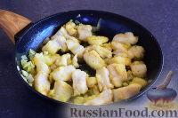 Фото приготовления рецепта: Быстрый рыбный пирог - шаг №6