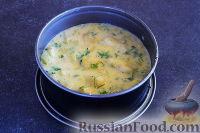 Фото приготовления рецепта: Быстрый рыбный пирог - шаг №10