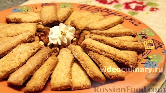 Печенье коржики с орехами