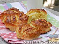 Фото к рецепту: Сахарные плюшки