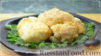 Фото к рецепту: Цветная капуста с сыром (в духовке)