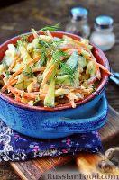 Фото к рецепту: Салат с колбасой и огурцом