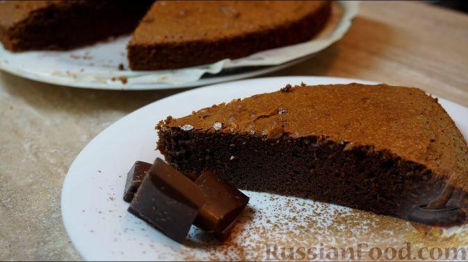 как приготовить шоколадный торт брауни