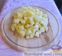 Фото приготовления рецепта: Суп с курицей, овощами и яйцами - шаг №3