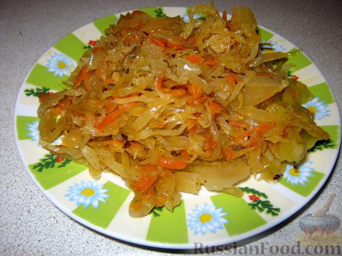 Рецепт Начинка из кислой капусты для пирожков и пирогов