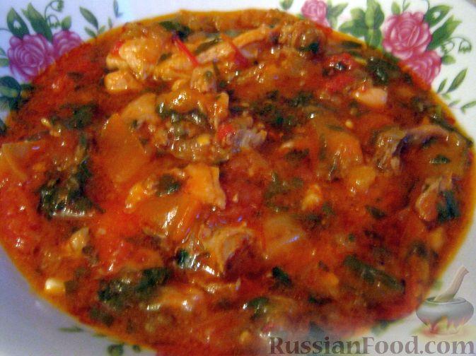 Сациви из овощей по-грузински пошаговый рецепт