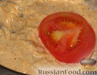 Фото приготовления рецепта: Помидоры в сыре - шаг №5