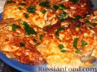 Фото приготовления рецепта: Помидоры в сыре - шаг №7