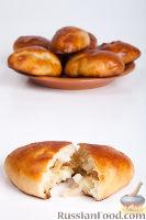 Фото к рецепту: Пирожки с капустой