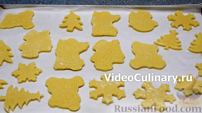 расписное печенье рецепт