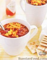 Фото к рецепту: Мясной соус из говядины, с фасолью