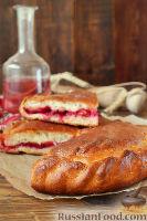 Фото к рецепту: Осетинский пирог с вишней (балджин)