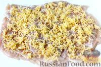 Фото приготовления рецепта: Куриный рулет с сыром и укропом - шаг №5