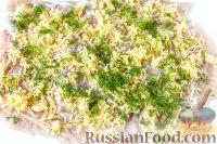Фото приготовления рецепта: Куриный рулет с сыром и укропом - шаг №6