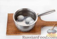 """Фото приготовления рецепта: Закуска """"Грибочки"""" - шаг №4"""