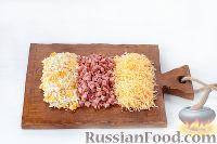 """Фото приготовления рецепта: Закуска """"Грибочки"""" - шаг №5"""