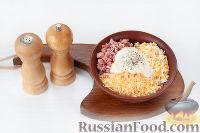"""Фото приготовления рецепта: Закуска """"Грибочки"""" - шаг №6"""
