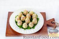 """Фото приготовления рецепта: Закуска """"Грибочки"""" - шаг №12"""