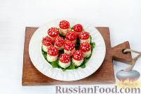 """Фото приготовления рецепта: Закуска """"Грибочки"""" - шаг №14"""
