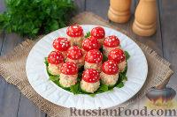 """Фото приготовления рецепта: Закуска """"Грибочки"""" - шаг №15"""