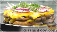 Птыси с вешенками - рецепт пошаговый с фото