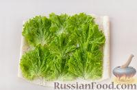Фото приготовления рецепта: Рулет из лаваша с сыром и колбасой - шаг №4
