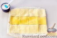 Фото приготовления рецепта: Рулет из лаваша с сыром и колбасой - шаг №5