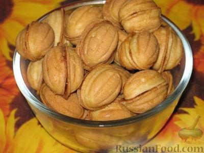 Рецепт орешков с вареной