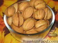 пирожное орешки с вареной сгущенкой
