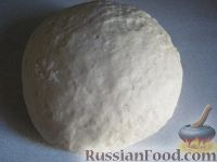 Фото к рецепту: Тесто дрожжевое для пиццы