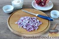 """Фото приготовления рецепта: Салат """"Новогодний сапожок"""" - шаг №2"""