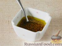 """Фото приготовления рецепта: Салат """"Новогодний венок"""" - шаг №3"""