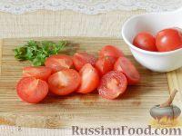 """Фото приготовления рецепта: Салат """"Новогодний венок"""" - шаг №7"""