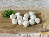 """Фото приготовления рецепта: Салат """"Новогодний венок"""" - шаг №5"""