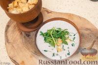 Грибной суп-пюре со сливками - рецепт пошаговый с фото