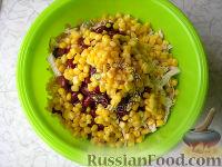 """Фото приготовления рецепта: Салат """"Браво"""" c пикантной заправкой - шаг №5"""