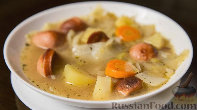 Суп с картофелем и капустой