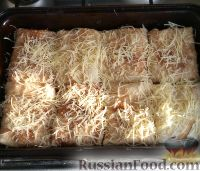 Блинчики с курицей и сыром - рецепт пошаговый с фото