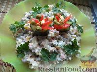 Холодные закуски из языка говяжьего со свежими огурцами 10