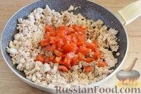 Фото приготовления рецепта: Кесадилья с курицей и сыром - шаг №6