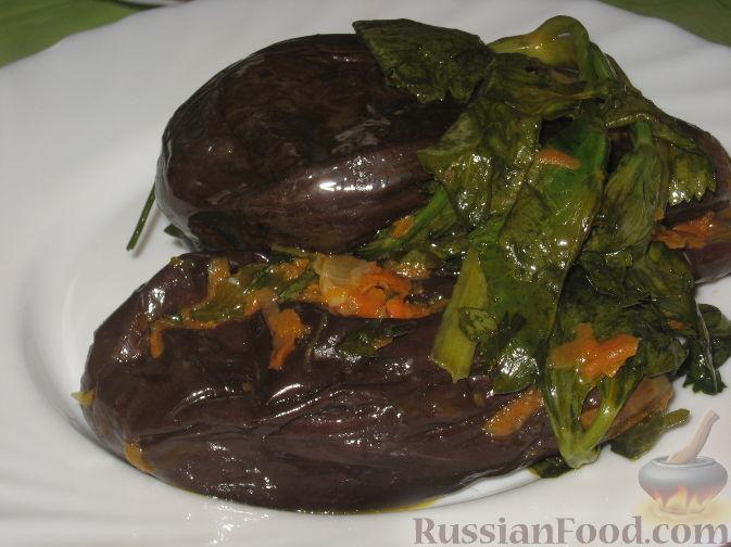 Рецепт квашеных баклажанов с морковью